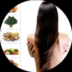 Wypadanie włosów po ciąży - dieta